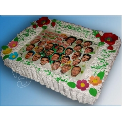 Торт на 8 марта №10