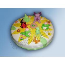Детский торт №48
