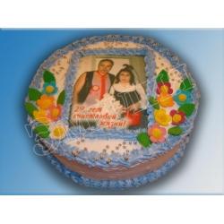 Торт с фото №11