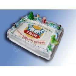 Торт новогодний №15