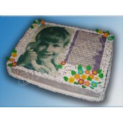 Торт с фото №37