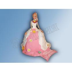 Торт кукла №2
