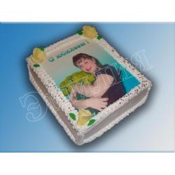Торт с фото №36