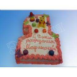 Торт цифра №29