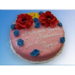 Торт на день рождения №45
