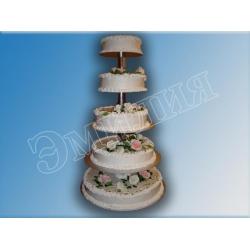 Торт на подставке №5