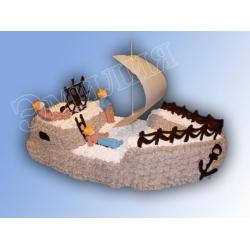 Торт корабль №16