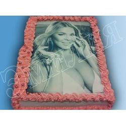 Торт с фото №48