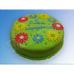Торт на день рождения №44