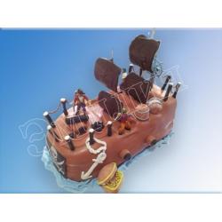 Торт корабль №22