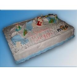 Торт новогодний №6