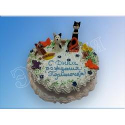 Детский торт №72