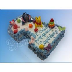 Торт цифра №30