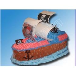 Торт корабль №1