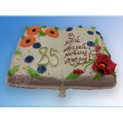 Торт юбилейный №60