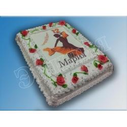 Торт с фото №9