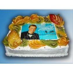 Торт с фото №29