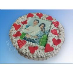 Торт сердечко №16