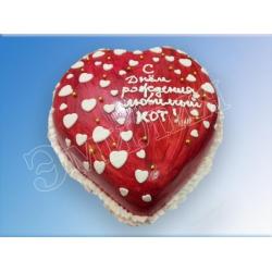 Торт сердечко №20