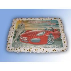 Торт с фото №45