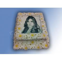 Торт с фото №39