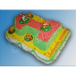 Торт цифра №11