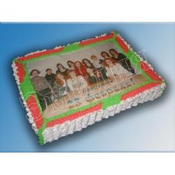 Торт на 23 февраля №2