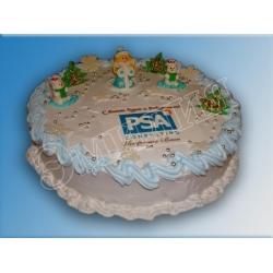 Торт новогодний №8