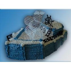 Торт корабль №6