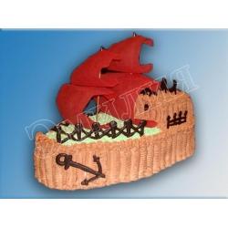 Торт корабль №11