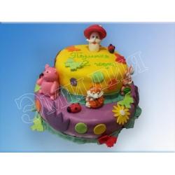 Детский торт №77