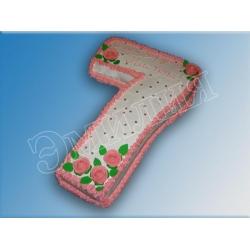Торт цифра №4