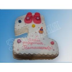 Торт цифра №16