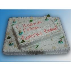 Торт новогодний №11