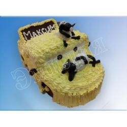 Торт машинка №22