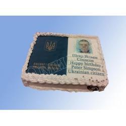Торт с фото №47