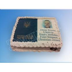 Торт с фото №50