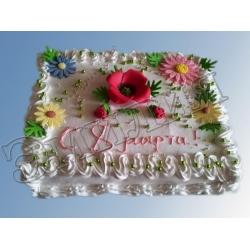 Торт на 8 марта №19