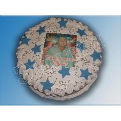 Торт с фото №15