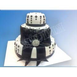 Ярусный тортик №45