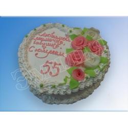 Торт юбилейный №53