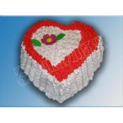 Торт сердечко №8