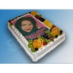 Торт с фото №14