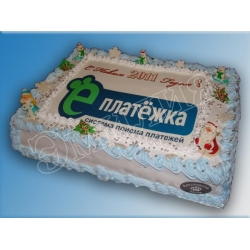 Торт новогодний №10