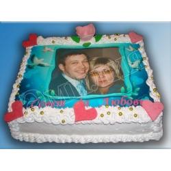 Торт с фото №34