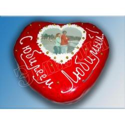 Торт сердечко №5