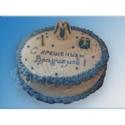 Торт на крестины №7