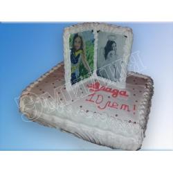 Торт с фото №49
