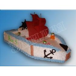Торт корабль №13