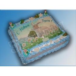Торт с фото №16